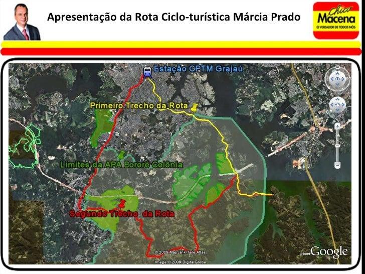 Apresentação da Rota Ciclo-turística Márcia Prado