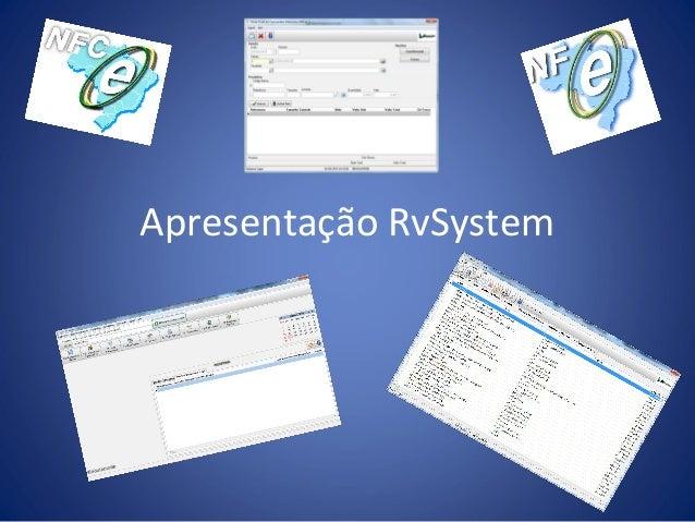 Apresentação RvSystem