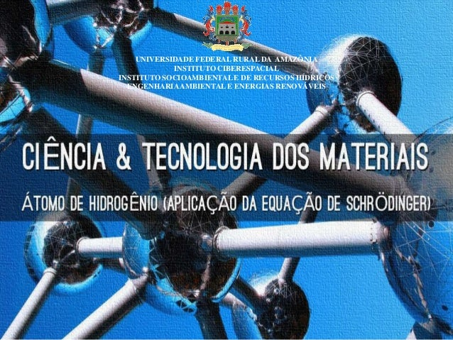UNIVERSIDADE FEDERAL RURAL DA AMAZÔNIA INSTITUTO CIBERESPACIAL INSTITUTO SOCIOAMBIENTAL E DE RECURSOS HÍDRICOS ENGENHARIAA...