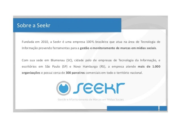Passo a Passo - Seekr Monitor, SAC e CRM Slide 2