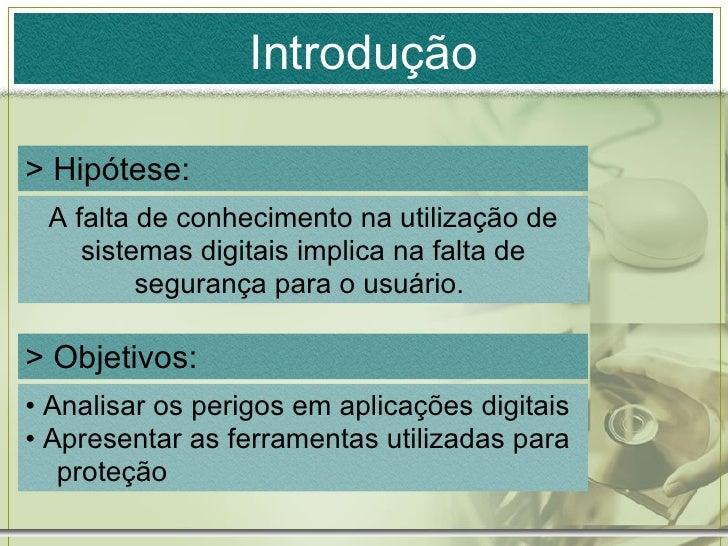 Faculdade: Trabalho sobre Seguranca Digital ( Versão em Slides ) Slide 2
