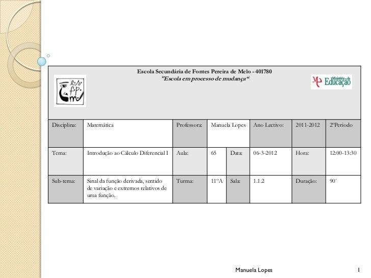 """Escola Secundária de Fontes Pereira de Melo - 401780                                              """"Escola em processo de m..."""