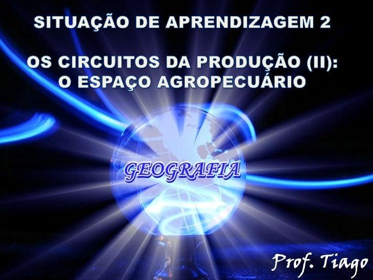 -Atualmente o espaço agropecuário brasileiro tem seevidenciado muito na mídia;-Em quase todos os dias ouvimos alguns termo...