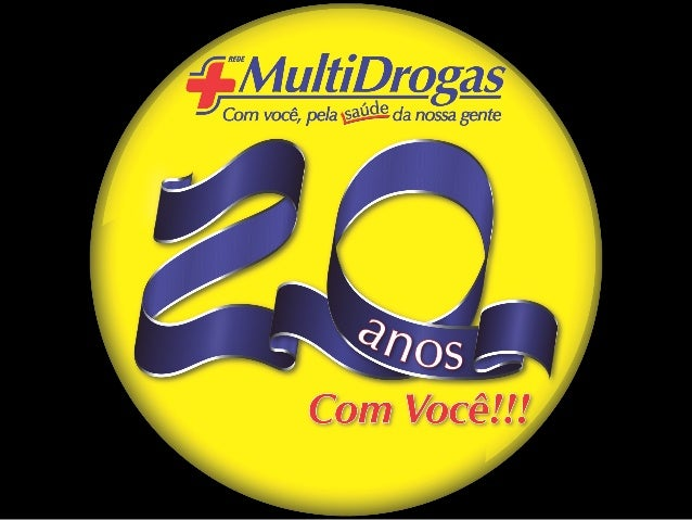 Comemoração 20 anos Rede MultiDrogas