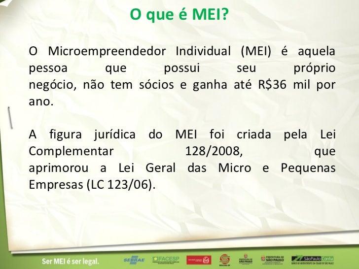 Micro Empreendedor Individual - EuSouMei.com.br Slide 2