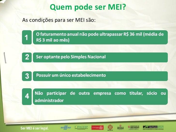 Micro Empreendedor Individual - EuSouMei.com.br Slide 3