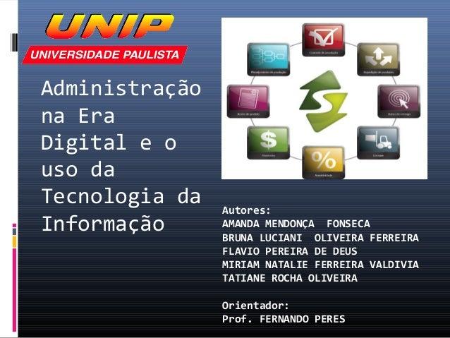 TCM - Unip - Tecnologia da Informação