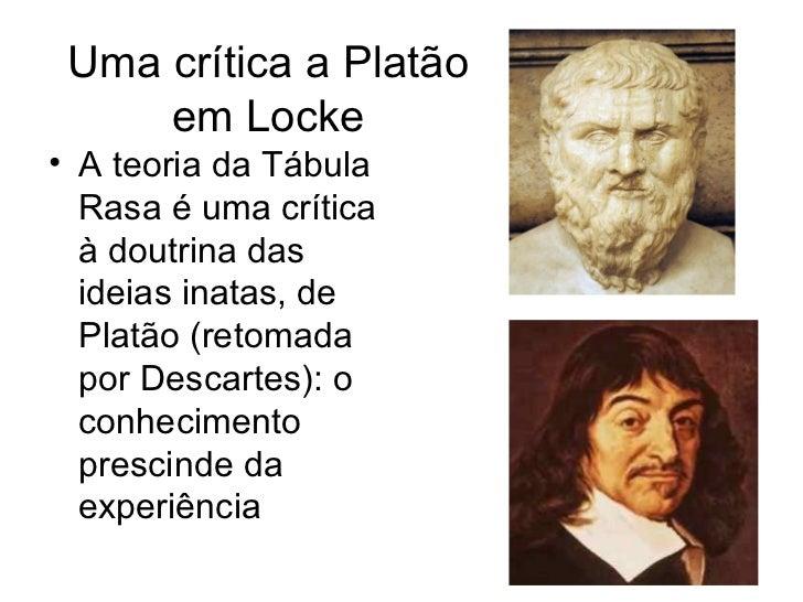 Ideias De Platão ~ Apresentaç u00e3o slides i john locke teoria politica ii(1)