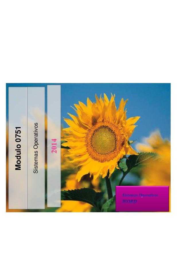 SistemasOperativos 2014 Modulo0751