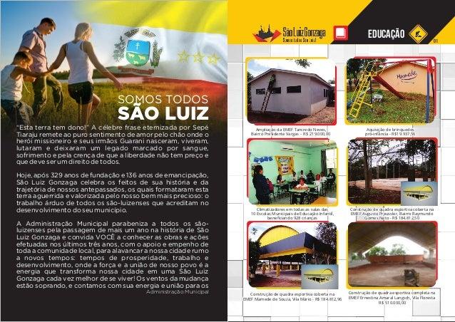Informativo Somos Todos São Luiz Slide 2