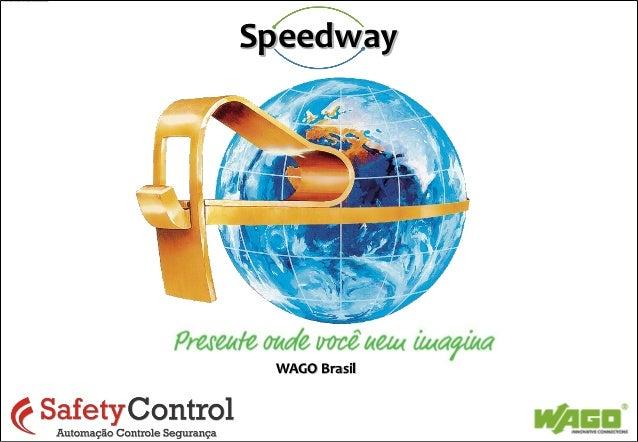 SpeedwaySales Topics  WAGO Brasil                © WAGO Kontakttechnik GmbH & Co.   1