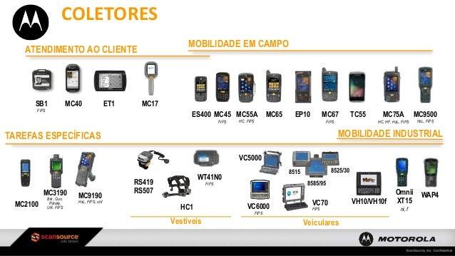 Linha De Produtos Motorola e Zebra - jun14 Slide 3