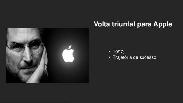 Volta triunfal para Apple • 1997; • Trajetória de sucesso.