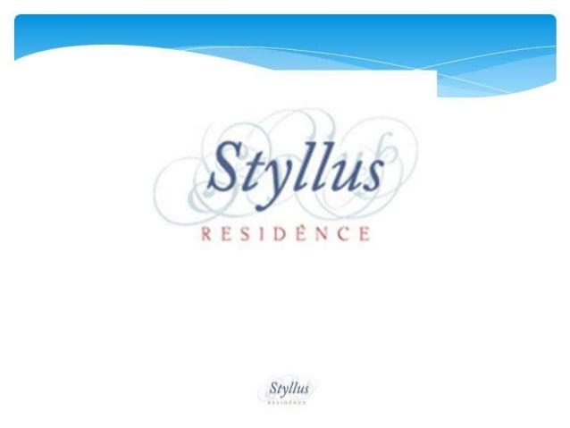 Apresentação styllus residence Freguesia