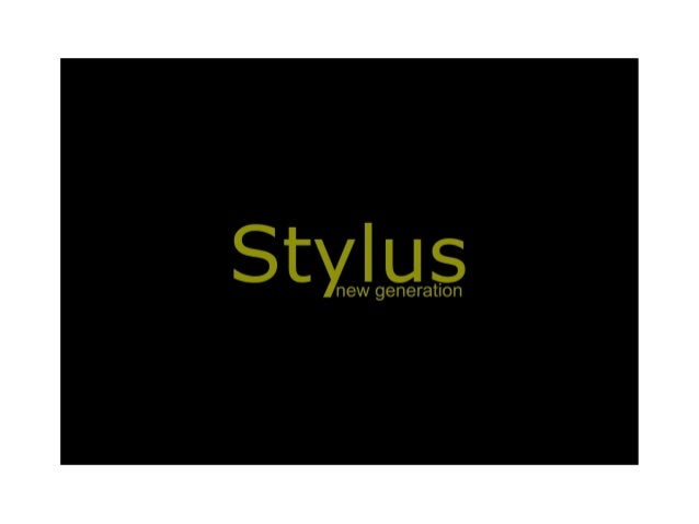 Apresentação Stylus