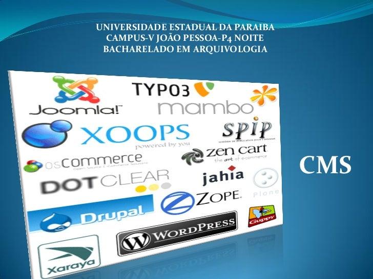 UNIVERSIDADE ESTADUAL DA PARAIBA  CAMPUS-V JOÃO PESSOA-P4 NOITE BACHARELADO EM ARQUIVOLOGIA                               ...