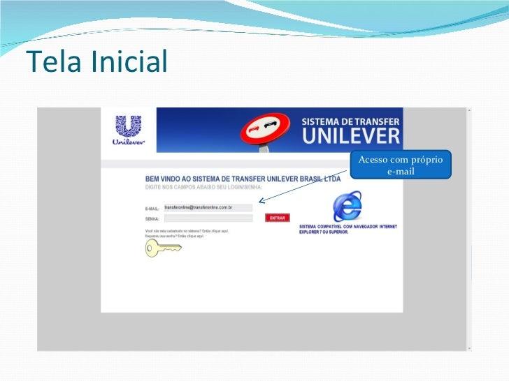 Apresentação Transferonline 2012