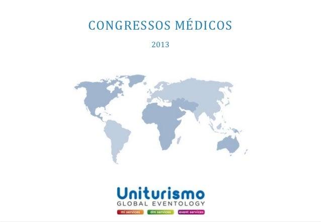 CONGRESSOS MÉDICOS       2013