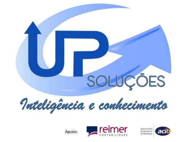 Inteligência e conhecimentoApoio: