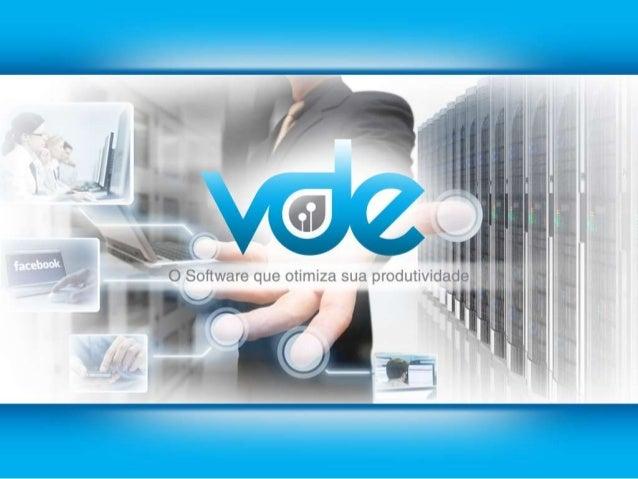 VDE - O Software que otimiza sua produtividade