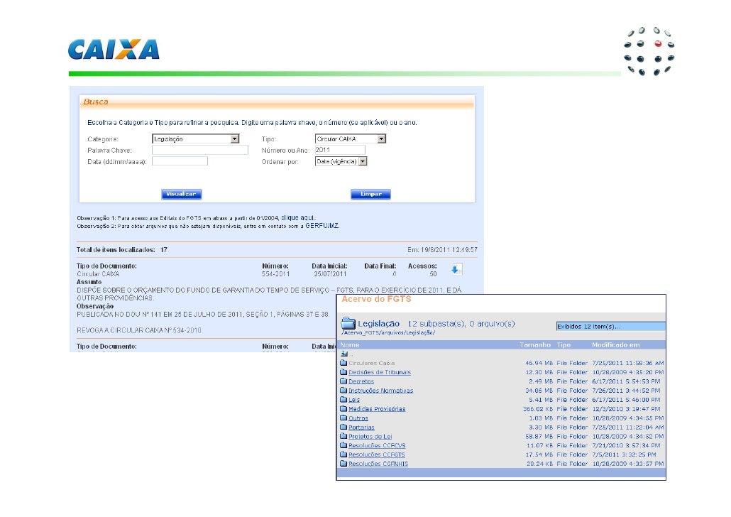 Apresenta o vi congep agosto de 2011 s vio marcos garbin for Caixa oficina internet