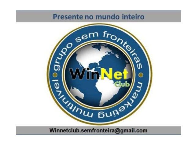WinNet Club Apresentação Portugues Grupo Sem Fronteira