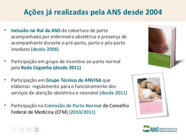 Promoção do Parto Normal na Saúde Suplementar Slide 3