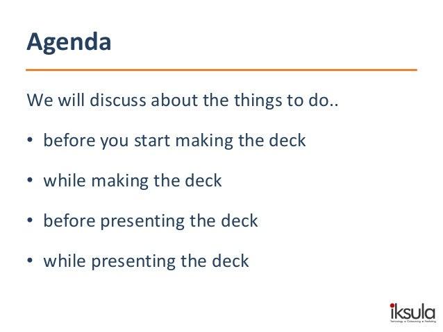 "A presentation on ""How to make a presentation"" Slide 3"