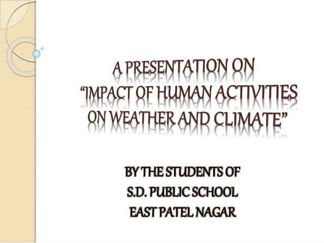the impacts of human activity on Box 43: impacts to surface water quality from human activity  the challenge of how to improve water quality by rehabilitation and protection of .