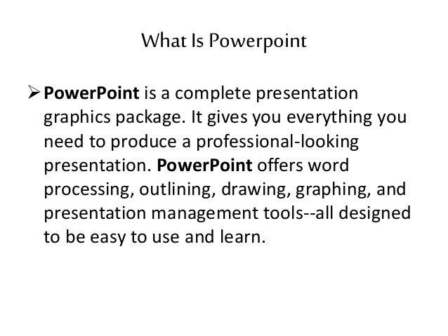 microsoft office presentations