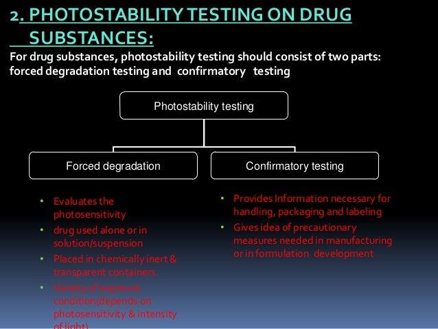 PHOTOSTABILITY TESTING SEM I SEMINAR - SlideShare