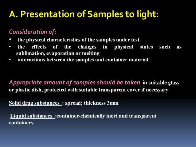 Implications of In-Use Photostability: Proposed Guidance ...