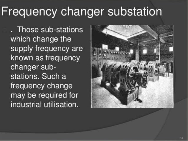 CONVERTING SUBSTATION: • Use to convert ac power into dc power by using static converting devices like SCRs. • Used for tr...