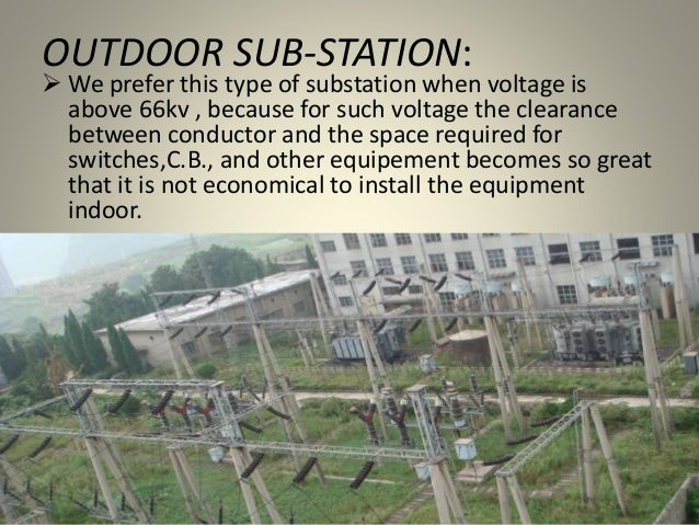 INDOOR SUB-STATION:  Generally we use indoor type of sub-staion for voltages upto 11kv but this range can be increased up...