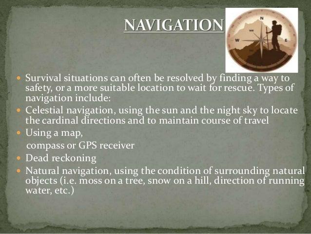 A Presentation On Survival Skills