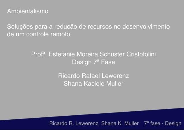 Soluções de Shana e Ricardo Rafael