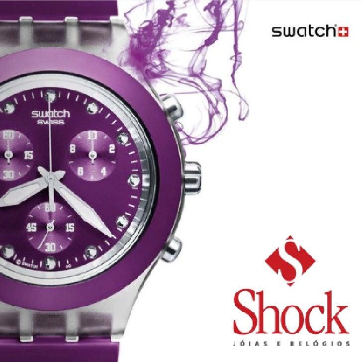 ce8c0483b65 Relógios Swatch Full Blooded - Shock Joias e Relógios