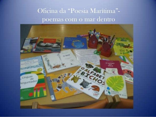 """Oficina da """"Poesia Marítima""""- poemas com o mar dentro"""