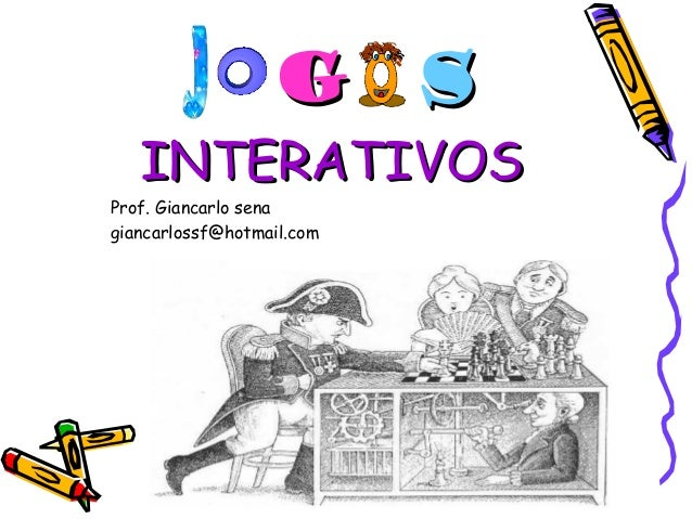 GG SS  IINNTTEERRAATTIIVVOOSS  Prof. Giancarlo sena  giancarlossf@hotmail.com