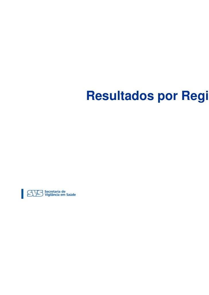 Resultados por Região