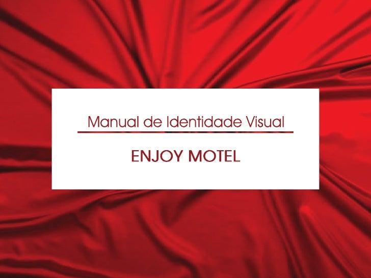 Identidade visual Enjoy Motel