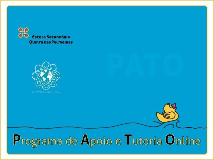 introdução     apoio pedagógico extra-aula             programa de apoio e tutoria online | 2010/2011