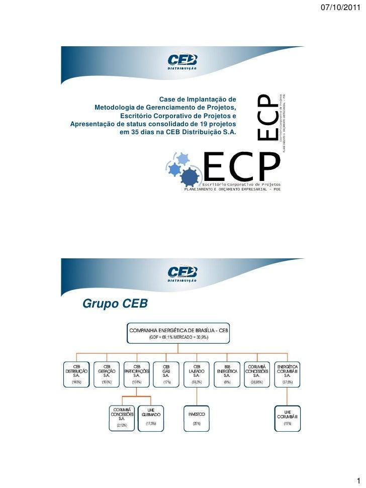 07/10/2011                          Case de Implantação de      Metodologia de Gerenciamento de Projetos,              Esc...
