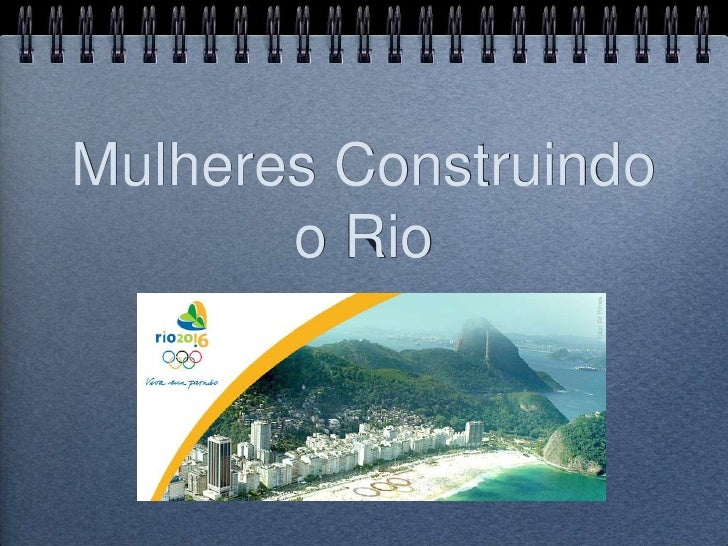 Mulheres Construindo o Rio