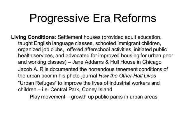 progressive era dbq answer key