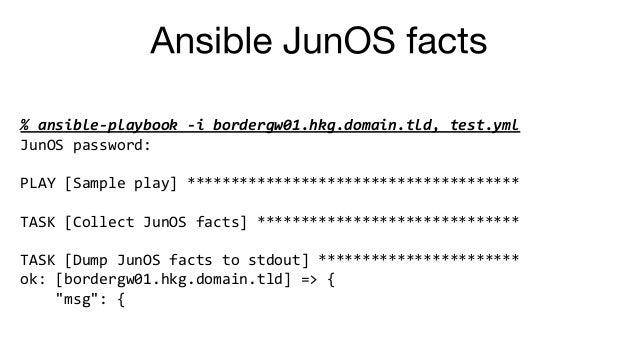 Network Automation: Ansible 102