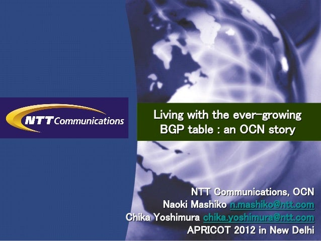 ©Copyright © 2012 NTT Communications Corporation All Rights Reserved.