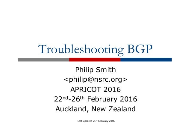 troubleshoot bgp Bgp neighbor adjacency issues occur every now and then, this lesson explains the most common issues and how to fix them.