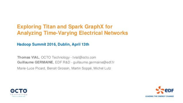 Exploring Titan and Spark GraphX for Analyzing Time-Varying Electrical Networks Hadoop Summit 2016, Dublin, April 13th Tho...