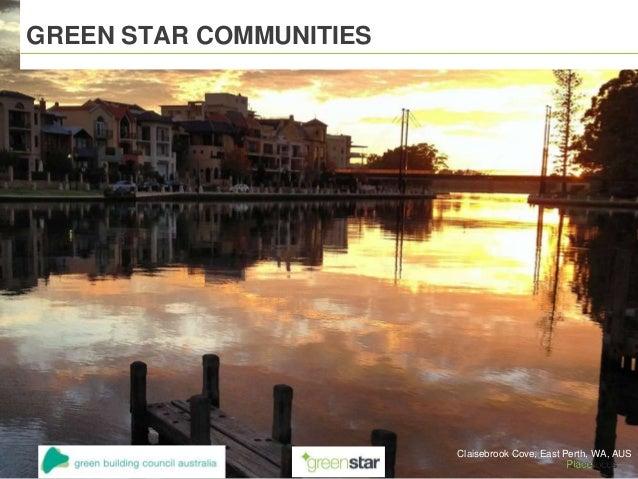 GREEN STAR COMMUNITIES Claisebrook Cove, East Perth, WA, AUS